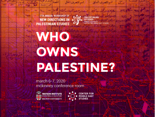 Who Owns Palestine?