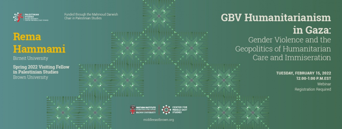 GBV Humanitarianism in Gaza