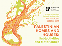 New Directions in Palestinian Studies 2019